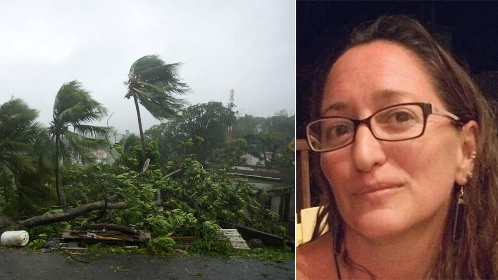 Kirsten Samuels bor sedan fyra år på den karibiska ön Vieques.