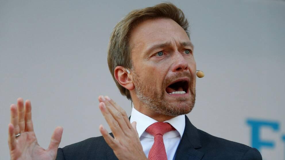 Liberalernas ledare Christian Lindner.