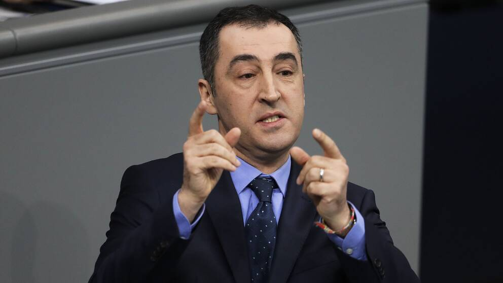 De Grönas partiledare Cem Özdemir.