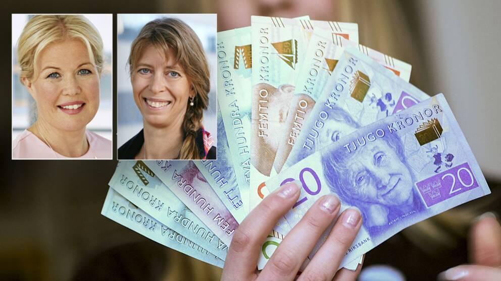 Svensk Försäkrings Eva Erlandsson och Anna Pettersson Westerberg om höstbudgeten.