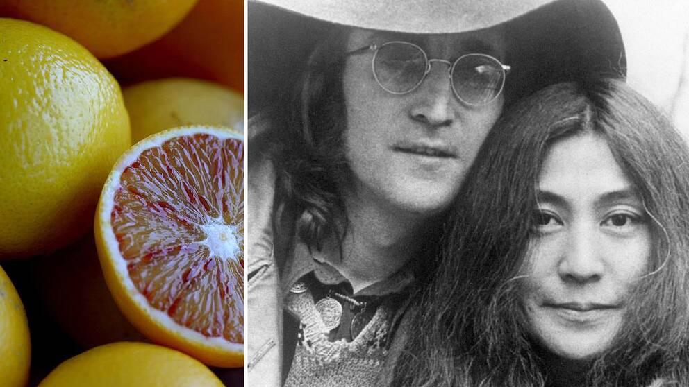Yoko ono stoppar lemonad