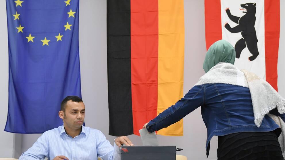 Sju nya tyska partier till eu