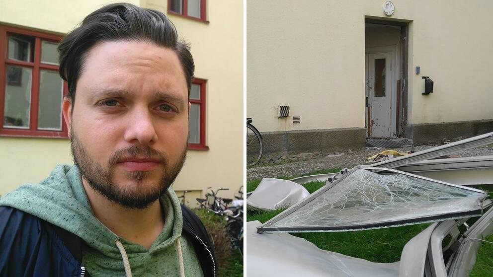 explosion norrköping nygatan jonas holmqvist