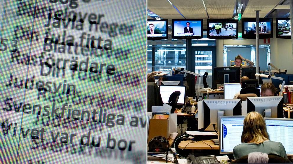Dodshot mot journalister
