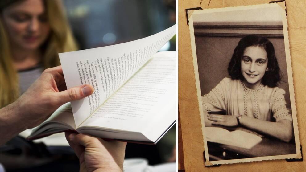 Anne Frank dog 15 år gammal i koncentrationsläger i Tyskland