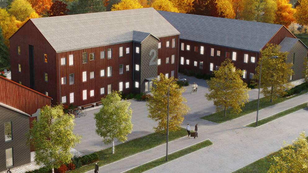 Företaget har bland annat byggt studentbostäderna vid Högskolan i Gävle.