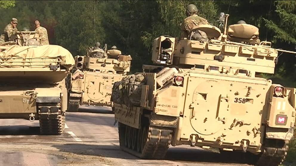 stridvagnar, amerikaner, aurora 17, hemvärnet.