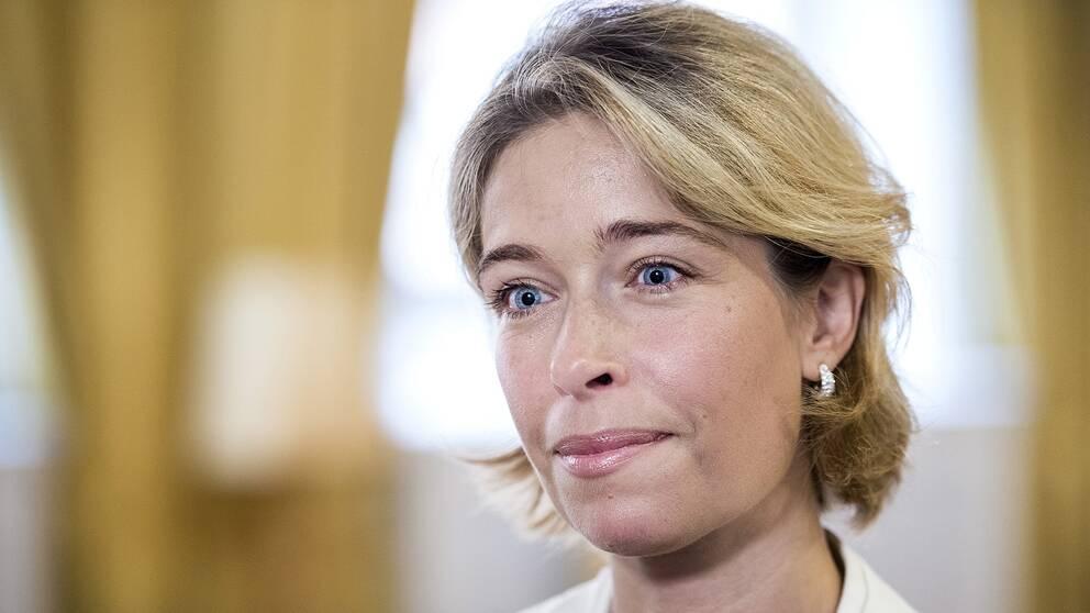 Annika Strandhäll (S), socialförsäkringsminister.