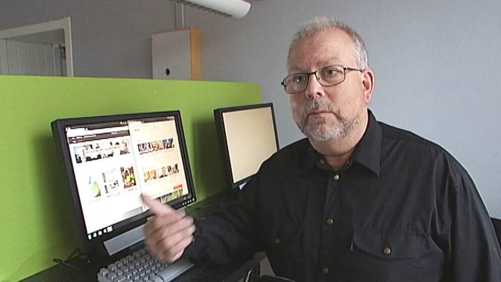 Anders Durvall som är kursansvarig.