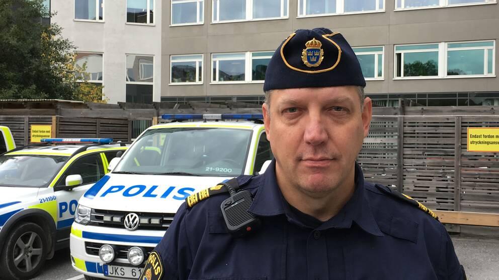 Jonas Eronen, kommissarie Uppsalapolisen