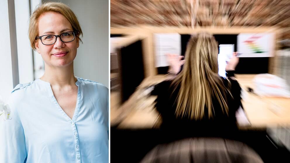 Kerstin Jeding, psykolog vid Stressmottagningen i Stockholm.