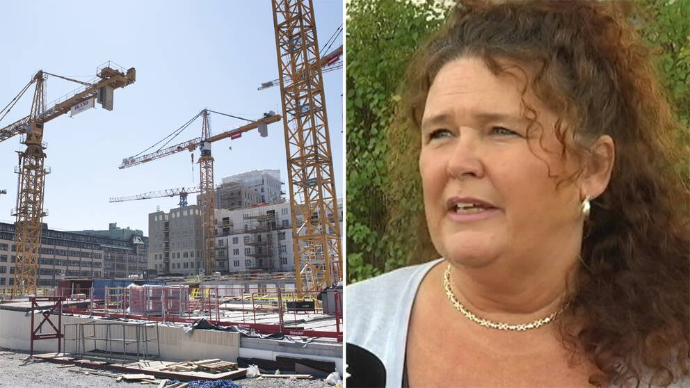 – Alla är förtvivlade, och det är inte bara företagarna, utan även personalen, säger Annette Juhlin, ägare Topiro Entreprenad.