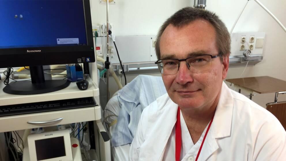 Den aktuella kvällen saknades en barnmorska, konstaterar Rickard Claesson, verksamhetschef för förlossningen i Kristianstad och Ystad.