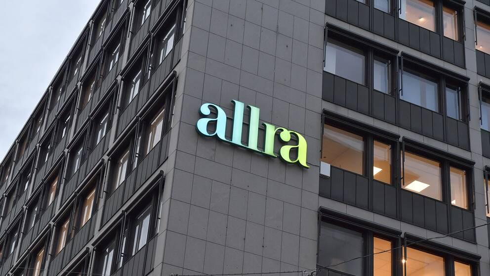Pensionsfondsbolaget Allra har sitt huvudkontor på Sveavägen i Stockholm