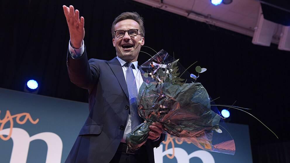 Ulf Kristersson vald till ny M-ledare