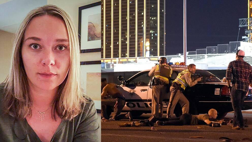 Ljusdaling mitt i paniken efter massakern | SVT Nyheter