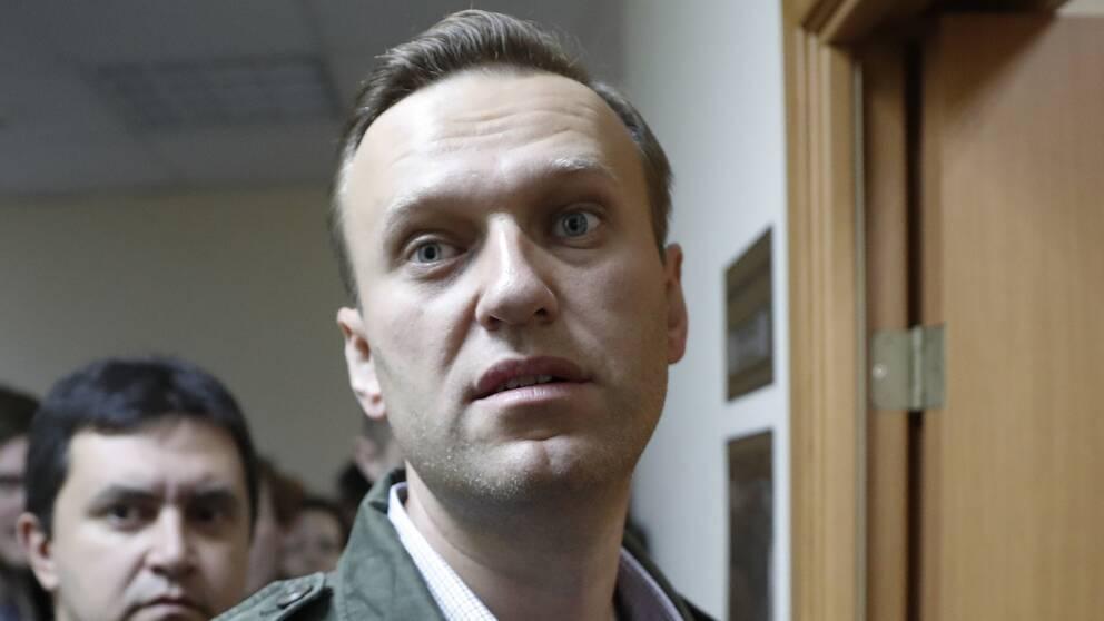 Den ryske oppositionsprofilen Aleksej Navalnyj.