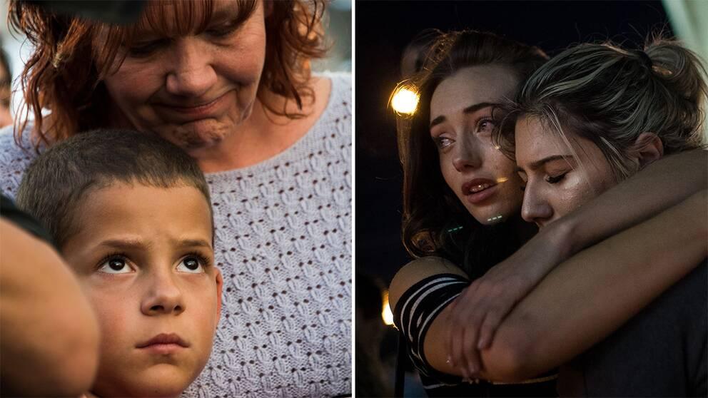 Sverige sorjer offren
