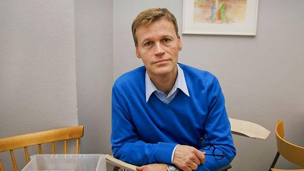 Jukka Aminoff, kanslichef på hivorganisationen Noaks ark