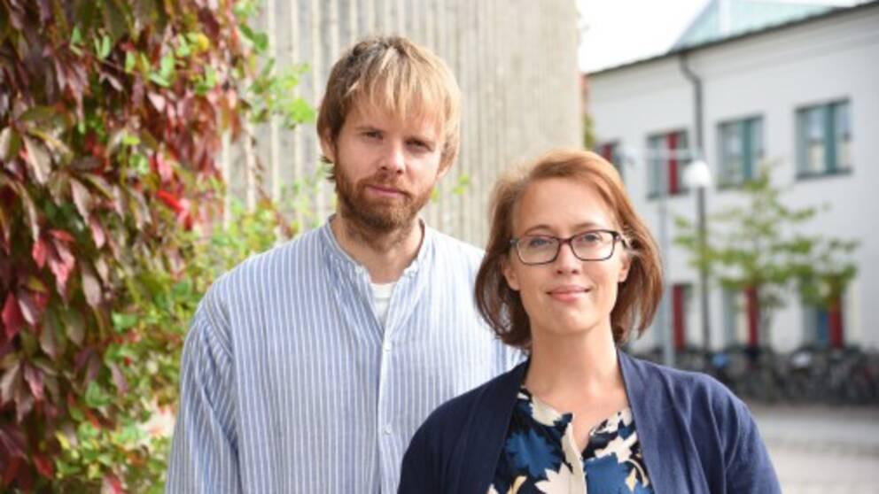 Jan Jämte och Emma Arnebeck