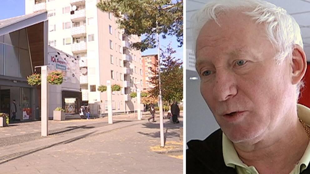 Rymdtorget har varit ett problemområde en längre tid berättar Ulf Jarnefjord, regionalt skyddsombud på Transportförbundet.