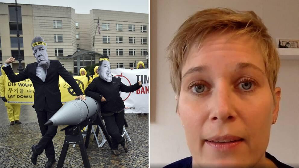 – Jag är väldigt glad och stolt säger Josefin Lind från Svenska läkare mot kärnvapen.
