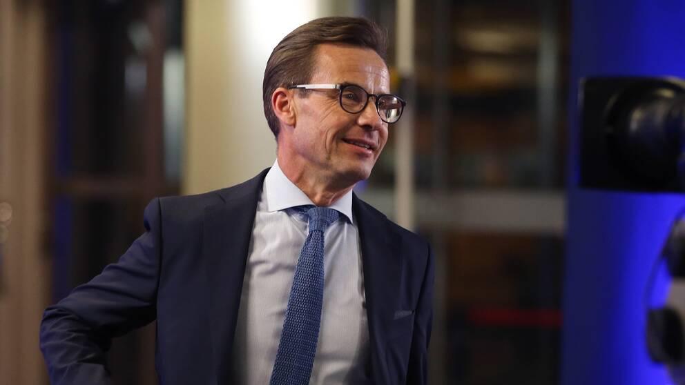 Moderaternas ledare Ulf Kristersson.