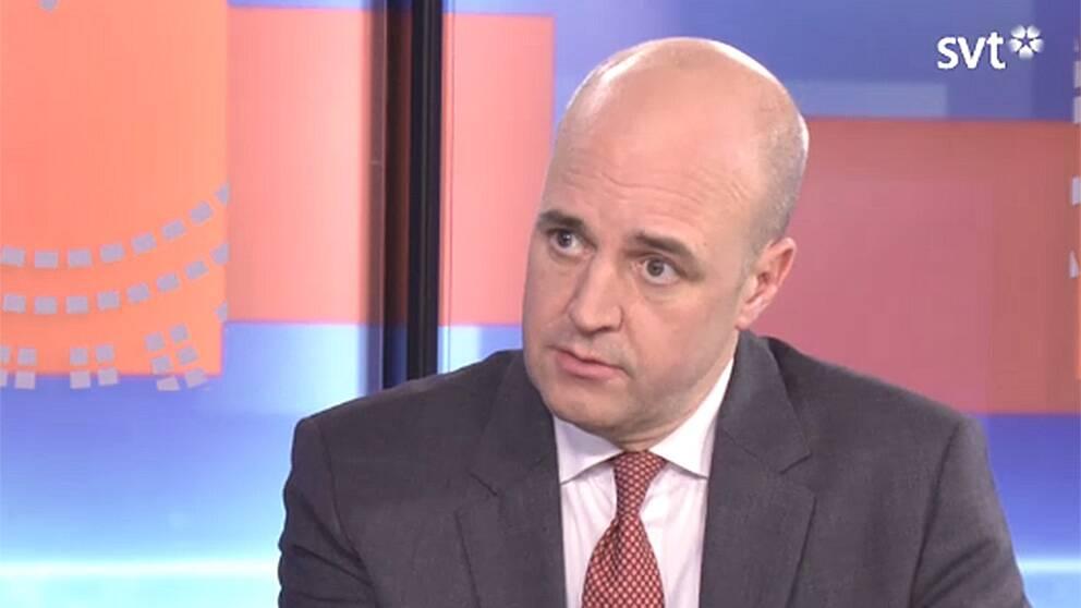 Fredrik Reinfeldt i Rakt på med Mats Knutson