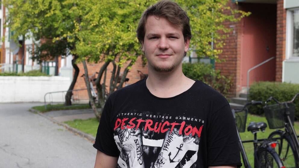 Dennis Wohlin, student vid Örebro universitet