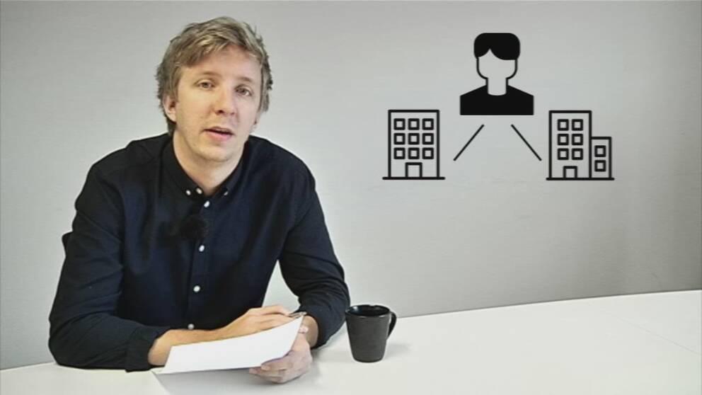 – Personer med anställning inom två förvaltningar har kunnat ta ut både sjuklön och vanlig lön samma dag, förklarar Erik Alfredsson.
