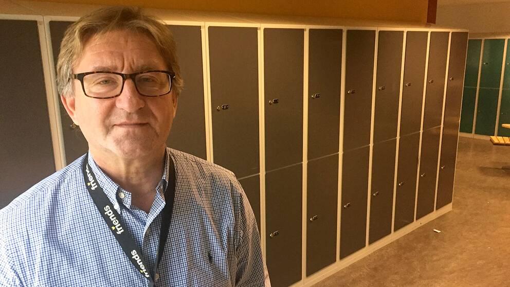 Mats Wahlsten är rektor på Norrgårdsskolan som tog emot majoriteten av eleverna från nedlagda Arabyskolan.