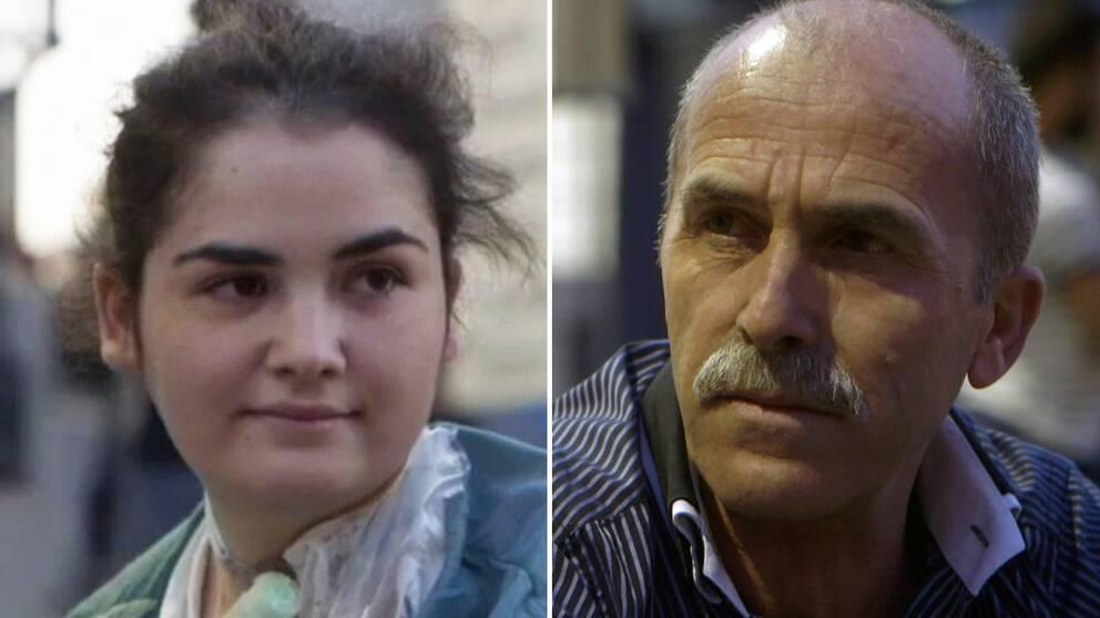 Yesmin Cetir, en av patienterna i Macchiarinifallet, och hennes pappa Hayrullah Cetir som nyligen avlidit.