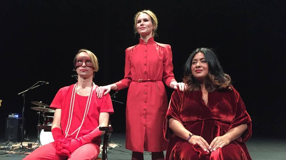 Thomas Öberg, Nina Persson och KristinAmparoär några av stjärnorna i föreställningen.
