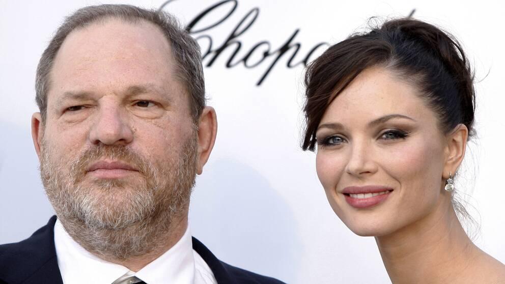 Harvey Weinstein och Georgina Chapman