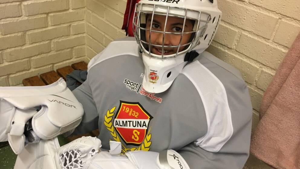 Hockeymålvakten Ida-Li Brodin