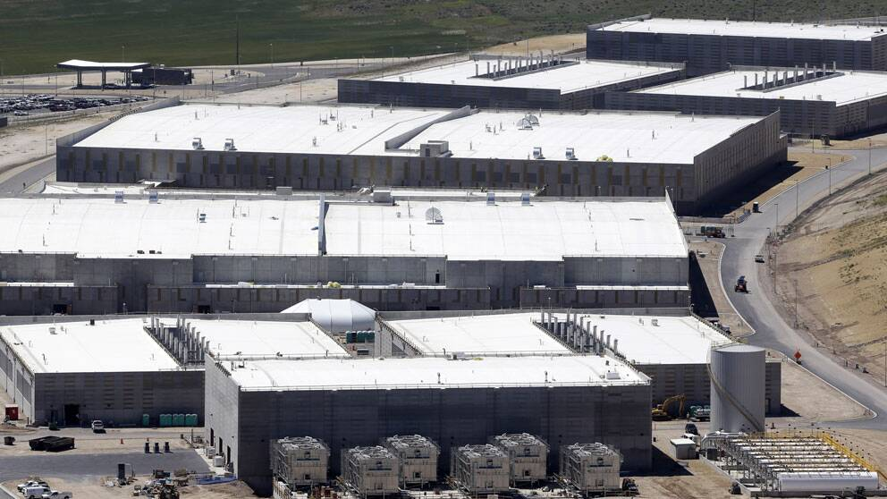 NSA:s stora avlyssningskomplex i Utah