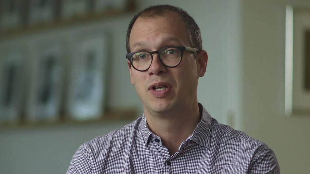 Jonas Vlachos, skoldebattör och professor i nationalekonomi.