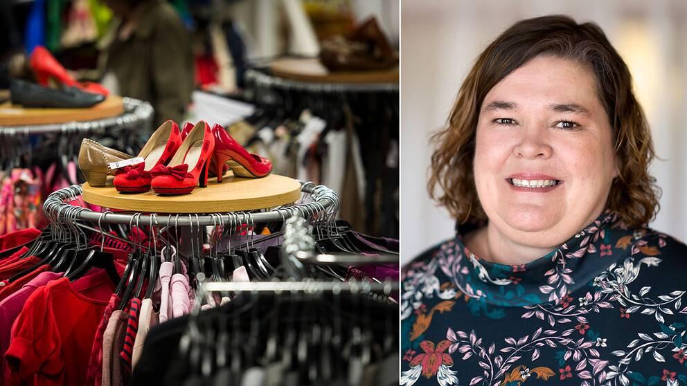 Lotta Kökeritz, Myrorna, är upprörd över H&M:s klädbränning