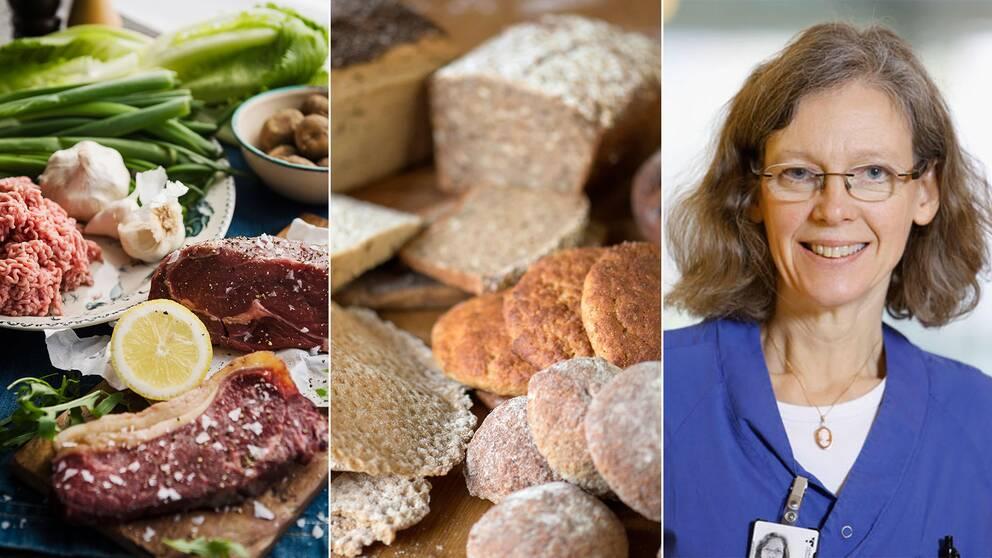 Ingrid Larsson, dietist på Sahlgrenska sjukhuset.