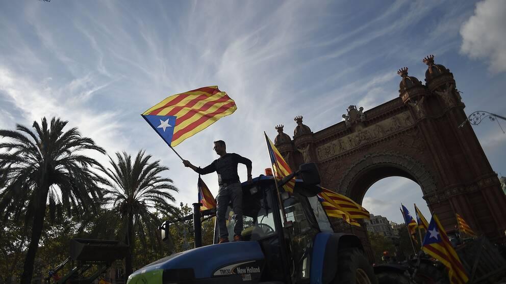Dn i spanien katalonien kraver okat sjalvstyre