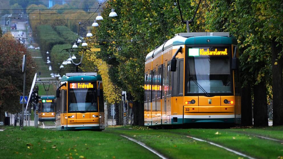 spårvagn spårvagnar norrköping