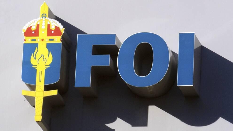 Totalförsvarets forskningsinstitut (FOI). Arkivbild.