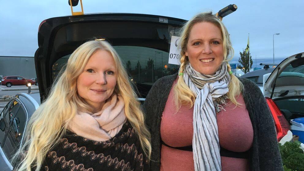 Emma Engström och Christina Almén startade Reko-ring Varberg.