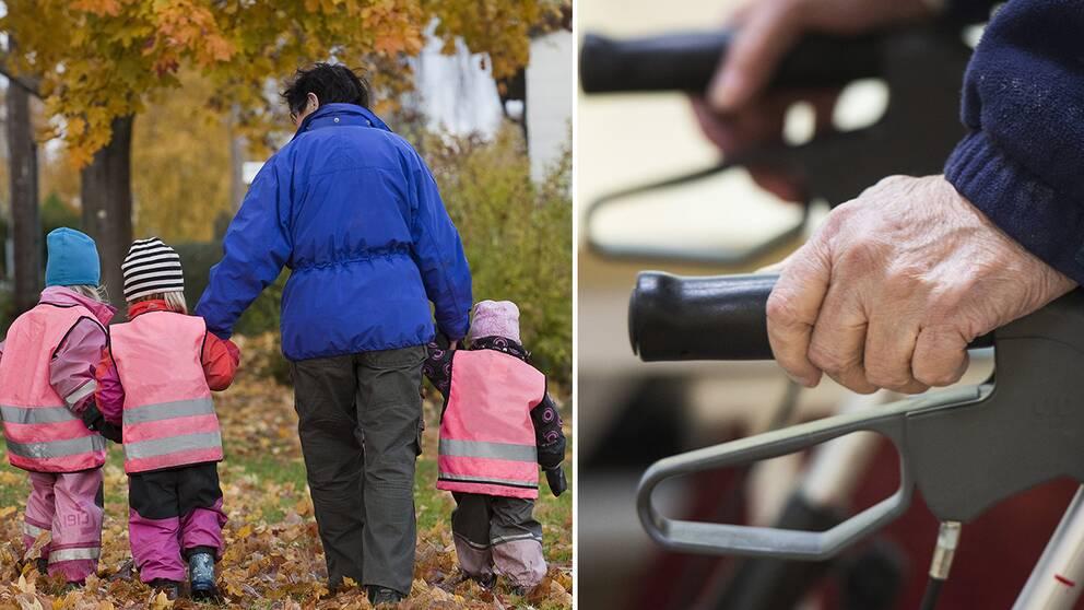 Kalmar vill få till stånd fler möten med kommunens äldsta – och yngsta invånare.
