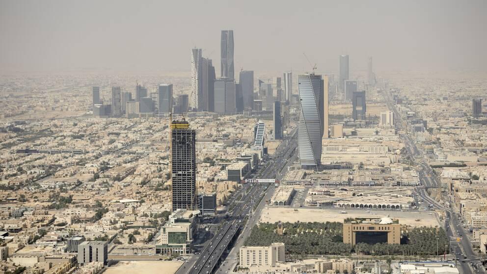Riyadh, Saudiarabien. Arkivbild.