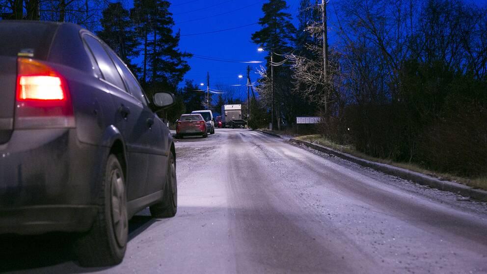 Risk for halka i morgontrafiken