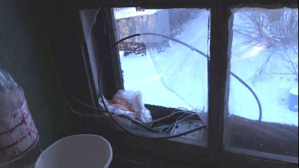 Det var kallt i rummet där Stoyan och hans familj bodde.
