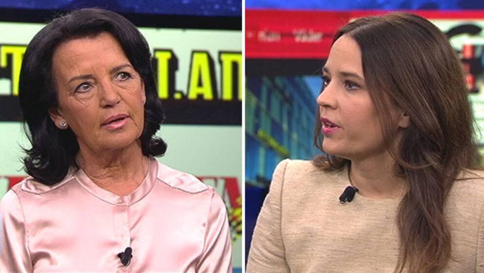 Advokatsamfundets generalsekreterare Anne Ramberg i debatt med Expressens ställföreträdande ansvarig utgivare Karin Olsson