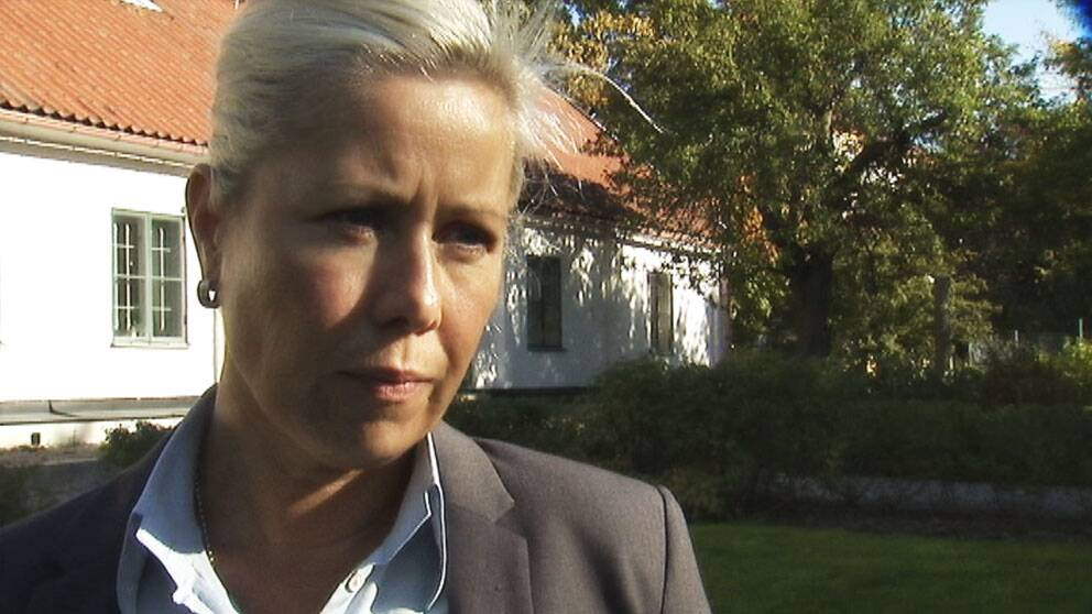 Anna C Nilsson (C), kommunalråd i Solna.