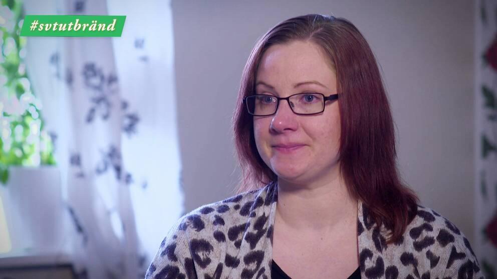 Johanna Blomberg drabbades av utmattningssyndrom.